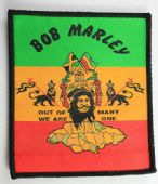 Bob Marley - 'Out of Many' Vintage Woven Patch